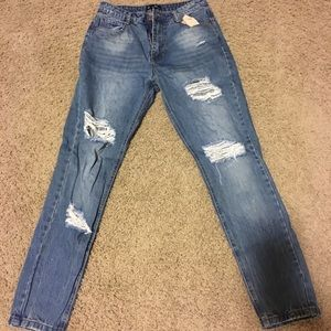 Missguided Destroyed Distressed Riot Jean 6 US
